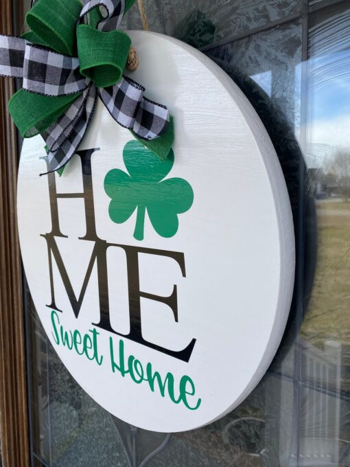 St Patricks Day Door Hanger