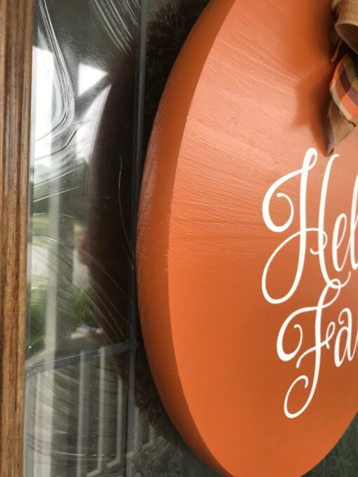 Hello Fall Door Hanger