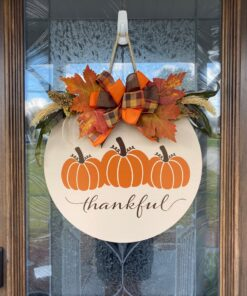 Thankful Sign Beige