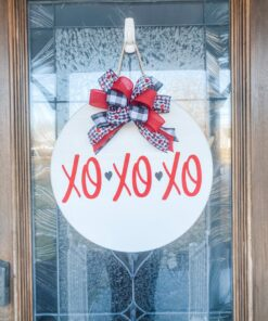 XOXOXO Sign White
