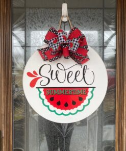 Sweet Summertime Sign White