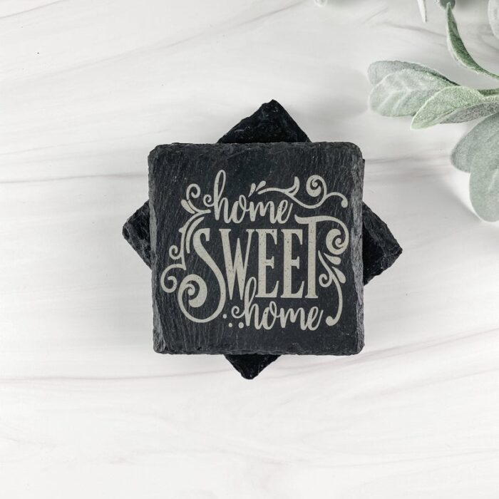 Home Sweet Home Coasters Set Of Four