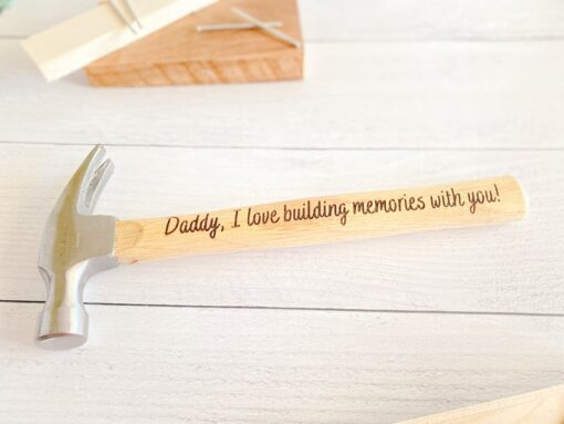 Personalized Father Hammer
