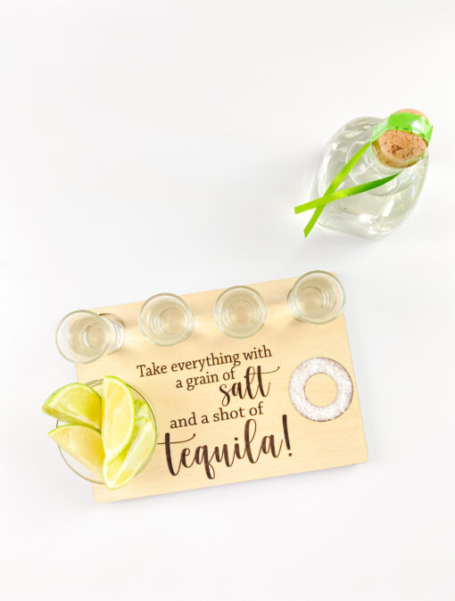 tequila tray